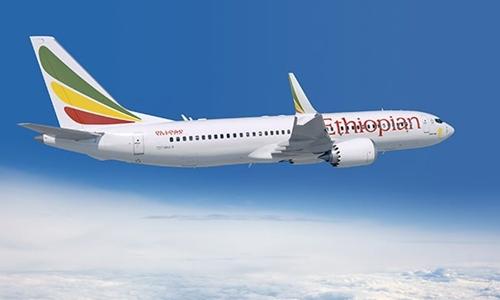 Một chiếc Boeing 737 MAX thuộc hãng hàng không Ethiopian Airlines. Ảnh: Aviation24.