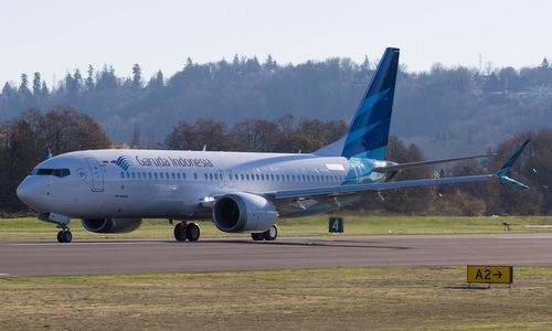 Một chiếc Boeing 737 MAX 8 của hãng Garuda Indonesia. Ảnh: Airways Magazine.