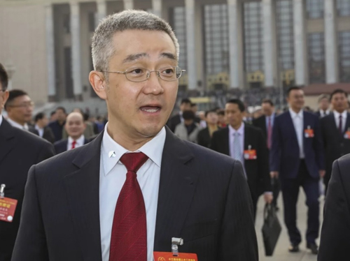 Hồ Hải Phong, con trai duy nhất của cựu chủ tịch Trung Quốc Hồ Cẩm Đào. Ảnh: SCMP.