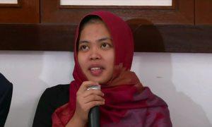 Nghi phạm Indonesia trong nghi án Kim Jong-nam họp báo sau khi được phóng thích