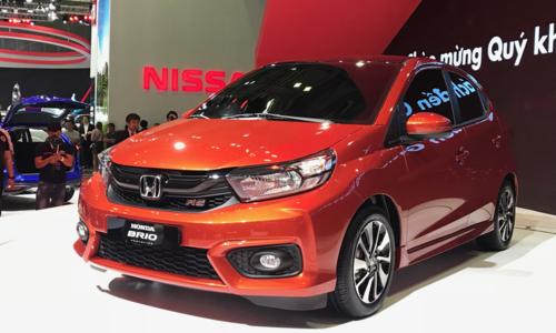 Phiên bản Honda Brio RStại triển lãm ôtô Việt Nam 2018. Ảnh: Thành Nhạn.
