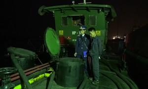 Tàu chở gần 40 nghìn lít dầu không nguồn gốc bị bắt tại Hải Phòng