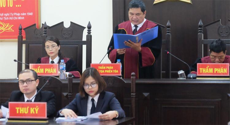 Phiên phúc thẩm do TAND Cấp cao tại Hà Nội mở lưu động tại Phú Thọ, khai mạc từ ngày 5/3.