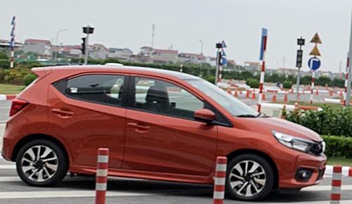 Honda Brio xuất hiện tại Việt Nam. Ảnh: CTV.