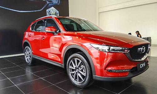 Mazda CX-5 nhận nhiều ưu đãi và giảm giá tại các đại lý trong tháng 3. Ảnh: Đại lý