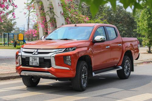 Một mẫu MitsubishiTriton 2019 tại Hà Nội. Ảnh: Đức Huy.