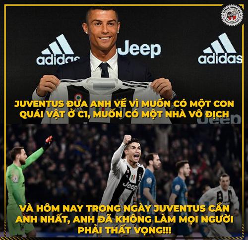 Juventus đúng là có tầm nhìn xa.