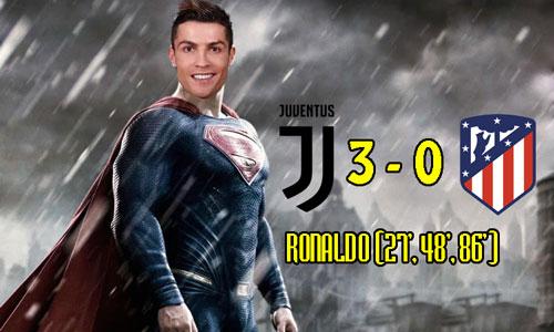 Ronaldo hóa thành siêu nhân trong mắt người hâm mộ thế giới.