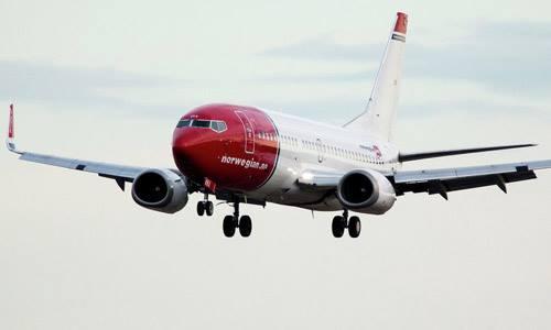 Một máy bay của hãng Norwegian Air Shuttle. Ảnh: AFP.