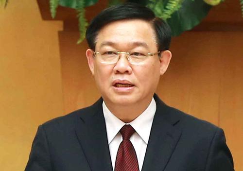 Phó thủ tướng Vương Đình Huệ. Ảnh: Hoàng Thùy