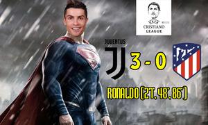 Ảnh chế Ronaldo hóa 'siêu nhân', Juventus ngược dòng vào tứ kết Cup C1