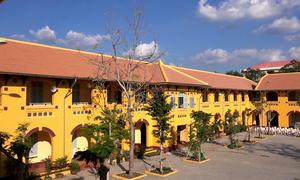 Ngôi trường ở miền Tây xây theo kiến trúc Pháp hơn 100 năm trước