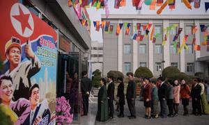 Cuộc bỏ phiếu bầu quốc hội ở Triều Tiên