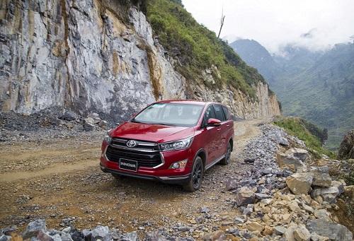 Vios, Innova và Corolla Altis từng lọt top những mẫu xe từng đứng đầu về doanh số.