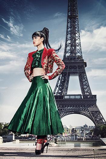 Người mẫu gốc Việt Jessica Minh Anh. Ảnh: J Model Managment