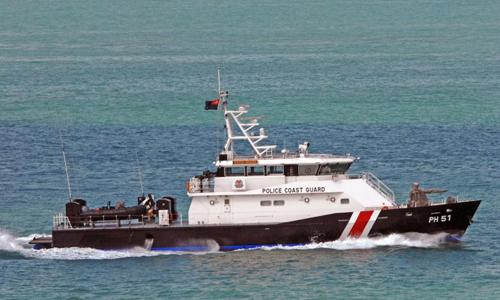Một tàu của Cảnh sát biển Singapore. Ảnh: SPF.