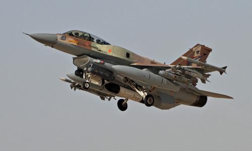 Tiêm kích F-16 Israel bay huấn luyện hồi năm 2017. Ảnh: IDF.