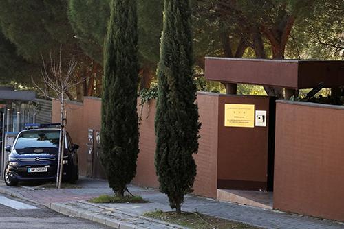 Đại sứ quán Triều Tiên ở Madrid,Tây Ban Nha. Ảnh: Reuters