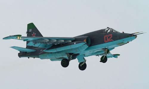 Cường kích Su-25SM3 của không quân Nga. Ảnh: Russian Defence.