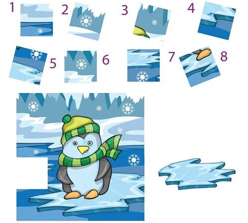 Năm câu đố ghép hình có thể khiến bạn rối trí - 1