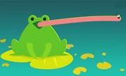 Siêu vũ khí giúp ếch bắt mồi nhanh như chớp