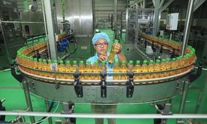 Dây chuyền sản xuất 800 chai nước giải khát một phút