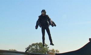 Bộ giáp bay Iron Man ngoài đời thật