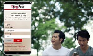 Ứng dụng danh tính điện tử tại Singapore