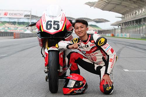 Tay đua Cao Việt Nam là niềm hy vọng của đội đua Honda Việt Nam Racing tại ARRC 2019.