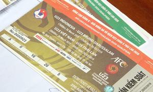 Vé vòng loại U23 châu Á chính thức đến tay người hâm mộ