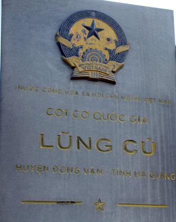 Cột cờ Lũng Cú, điểm cực Bắc của Việt Nam. Ảnh: Lê Nam.