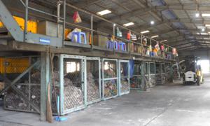 Nhà máy xử lý chất thải rắn thành phân hữu cơ ở ĐBSCL