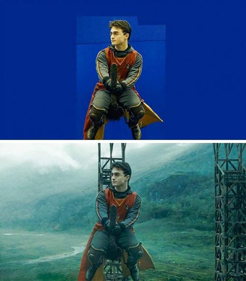 Cách để bay trong Harry Potter.