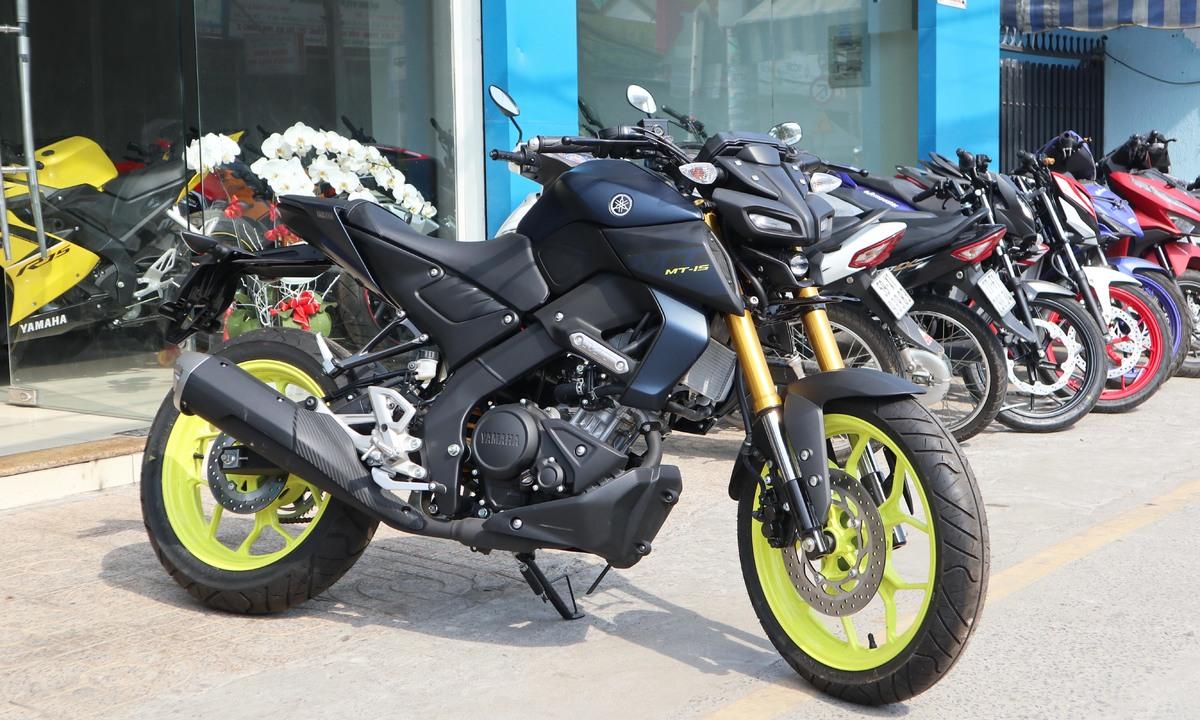 Yamaha MT-15 2019 – xe côn tay giá 79 triệu đầu tiên về Việt Nam