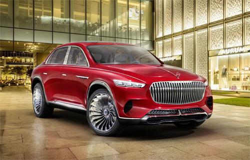 Mercedes-Maybach Vision Ultimate Luxury có thể là phiên bản ý tưởng của GLS bản Maybach.