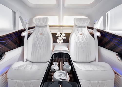 Nội thất với hàng ghế sau phong cách thương gia sẽ là điểm