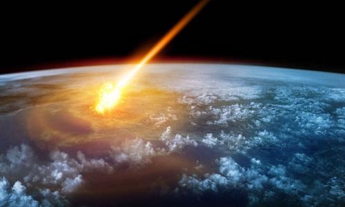 Thiên thạch phát nổ cách mặt biển khoảng 25 km. Ảnh: IFL Science.