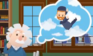 Ý tưởng bất chợt tạo bước ngoặt cho cuộc đời Albert Einstein