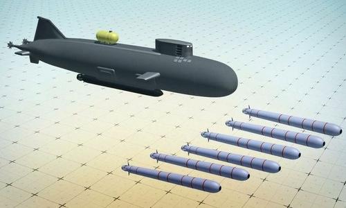 Tàu ngầm dài nhất thế giới mang siêu ngư lôi hạt nhân của Nga