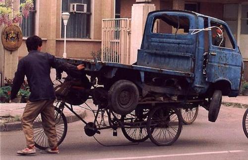 Xe tải cũng đâu có làm khó được các shipper.