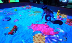 Khu tương tác ánh sáng 3D đầu tiên ở Sài Gòn