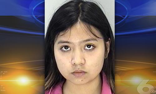 Kim Anh Vo, 20 tuổi, người Mỹ gốc Việt bị bắt vì cáo buộc hỗ trợ tổ chức khủng bố IS. Ảnh: ABC.