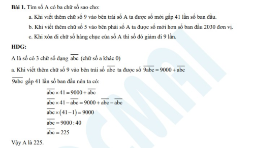Bí quyết giành điểm với các dạng bài về cấu tạo số tự nhiên lớp 6 - 1