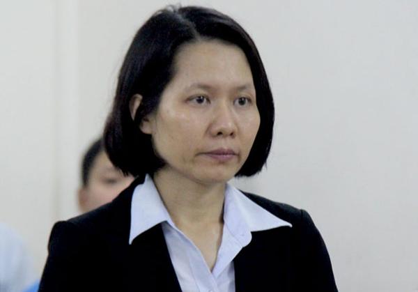 Cựu tổng giám đốc Oceanbank NguyễnMinh Thu.