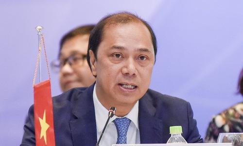 Thứ trưởng Ngoại giao Nguyễn Quốc Dũng. Ảnh: TTXVN.