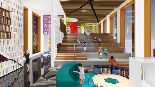 Hệ thống thư viện hiện đại với nhiều đầu sách đa ngành, đa ngôn ngữ cùng chương trình chuyên nghiệpgiúp phát triển kỹ năng tiếp thu thông tin ở học sinh.