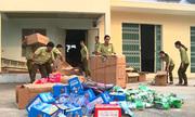 Quảng Nam đập 1.000 đồng hồ giả nhãn hiệu để tiêu hủy