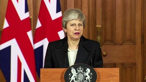 Thủ tướng Anh Theresa May. Ảnh: CNN.