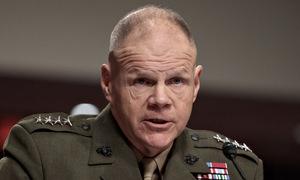 Tư lệnh thủy quân lục chiến Mỹ phản đối điều quân xây tường biên giới