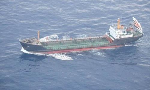 Tàu Ji Song 6 mang cờ Triều Tiên được nhìn thấy trên Biển Hoa Đông hồi tháng 5/2018. Ảnh: Reuters.
